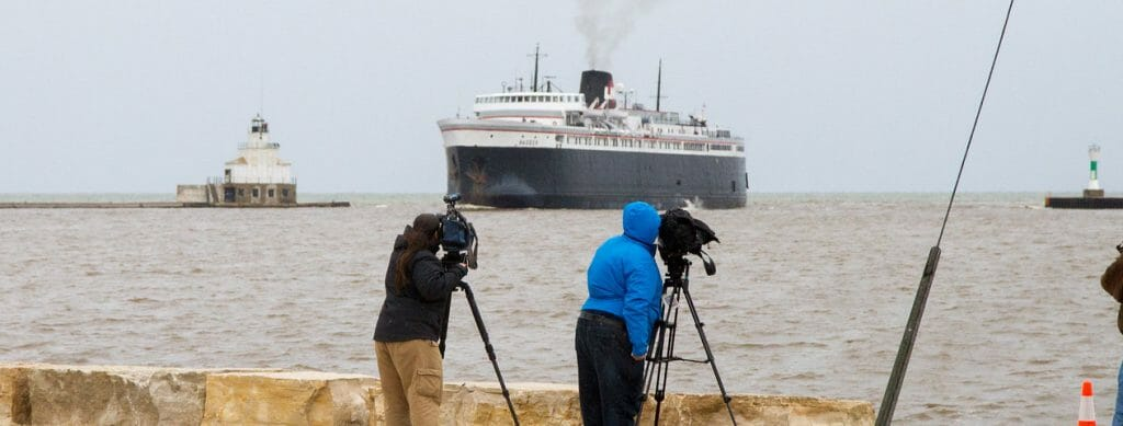 SS Badger: the last of Lake Michigan's car ferries